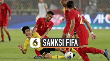 PSSI resmi dijatuhi sanksi oleh FIFA terkait kericuhan yang terjadi saat pertandingan Indonesia Vs Malaysia di Gelora Bung Karno.
