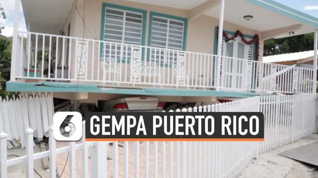 Wilayah Puerto Rico diguncang gempa berkekuatan magnitudo 5,8. Gempa merusak sejumlah rumah warga dan memutus aliran listrik ke daerah tersebut.