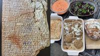 Pria Ini Mencoba Memasak Resep Masakan yang Telah Berusia 4000 Tahun. (Sumber: Twitter/Bill_Sutherland)
