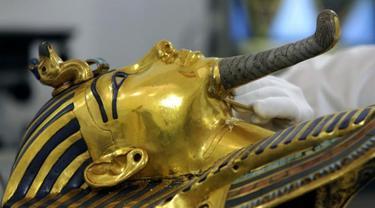Sarkofagus Firaun Tutankhamun (AP PHOTO)