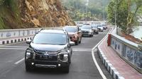 MMKSI mengajak jurnalis dari media otomotif nasional untuk mencoba ketangguhan dan kenyamanan Xpander Cross.
