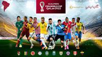 Kualifikasi Piala Dunia 2022 zona CONMEBOL. (dok. Nine Sport Inc.)