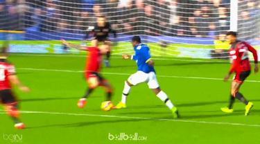Hancurkan Bournemouth dengan empat gol, striker Everton, Romelu Lukaku jadi pemain terbaik Liga Inggris pekan ke-24. (BallBall Video)