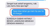 5 Chat Kocak ke Calon Mertua Ini Bikin Ketawa (sumber: Twitter.com/knmj129)