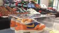 Sneakers di Airgasm. (Liputan6.com/Vidi)