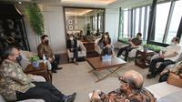 Erick Thohir reuni bersama para mantan Menteri BUMN di kantornya, Selasa (2/3/2021) (dok: Istimewa)