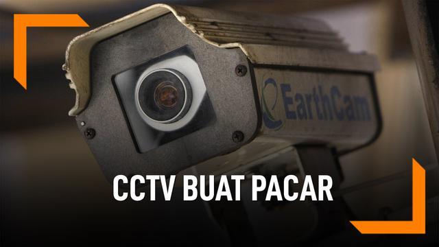 Posesif Berlebih, Pria Ini Pantau Pacar Lewat CCTV