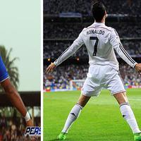 Mengidolakan Cristiano Ronaldo, pemain Persib Bandung Zulham Zamrun ternyata juga hobi meniru gaya selebrasi dari CR7.