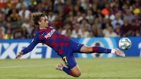 Antoine Griezmann berhasil menyumbangkan dua gol dalam kemenangan Barcelona 5-2 atas Real Betis di Camp Nou, Minggu (25/8/2019). Doc: Barcelona