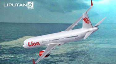 Banner Pesawat Lion Air JT 610 Jatuh