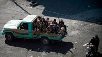 Kelompok Houthi di Yaman (AFP)