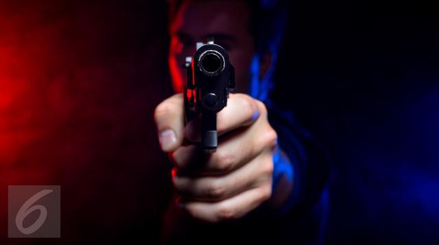 Ilustrasi Foto Penembakan dengan Senjata Api (iStockphoto)