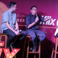"""""""Jadi dengan adanya iflix ini ngebuka peluang banget buat gue, buat orang-orang di luar sana yang pengen nonton film Indonesia tapi pas gak ada waktu,"""" tukas Ge Pamungkas. (Deki Prayoga/Bintang.com)"""