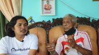 Ayah Bambang Pamungkas, Misranto. (Abdi Satria/Bola.com)