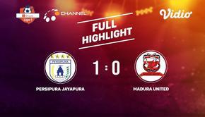 Laga lanjutan Shopee Liga 1, Persipura Jayaputra vs Madura United FC berakhir  1-0 #shopeeliga1 #Persipura #Madura United