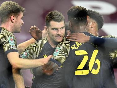 Menang Tipis, Stoke City Depak Aston Villa dari Piala Liga Inggris