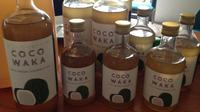 Produk virgin coconut oil (VCO) Coco Waka berasal dari Wakatobi, Sulawesi Tenggara. (Liputan6.com/Putu Elmira)