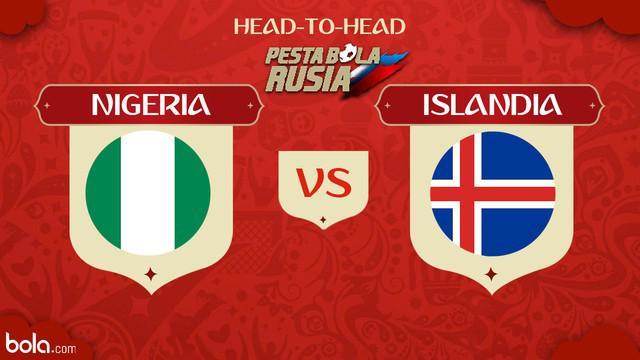 Berita video head-to-head Piala Dunia Rusia 2018: Nigeria vs Islandia.