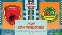 Shopee Liga 1 - PSM Makassar Vs Tira Persikabo (Bola.com/Adreanus Titus)