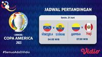 Link Live Streaming Pertandingan Copa America 2021 di Vidio, Senin 21 Juni. (Sumber : dok. vidio.com)
