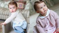 Pihak resmi kerajaan Inggris membagikan foto Princess Charlotte ke publik. (Instagram)