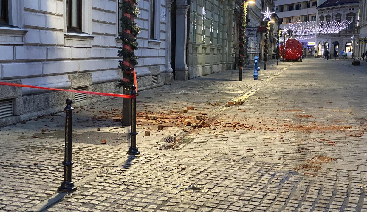 Foto Gempa Bumi 5 2 Magnitudo Goyang Kroasia Global Liputan6 Com