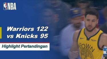 Klay Thompson mencetak 43 poin saat Warriors mematahkan tiga kekalahan beruntun di kandang.