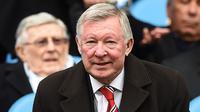 """6. Sir Alex Ferguson - """"Aku tak pernah bertanding untuk hasil imbang."""" (AFP/Paul Ellis)"""