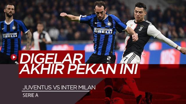 Berita Video Akibat Wabah Corona, Juventus Vs Inter Milan Akan Digelar Tanpa Penonton