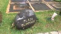 Plaza Hall of Fame di Asrama PB Djarum, Jati, Kudus, menampilkan prestasi lulusan klub. (Liputan6.com/Harley Ikhsan)