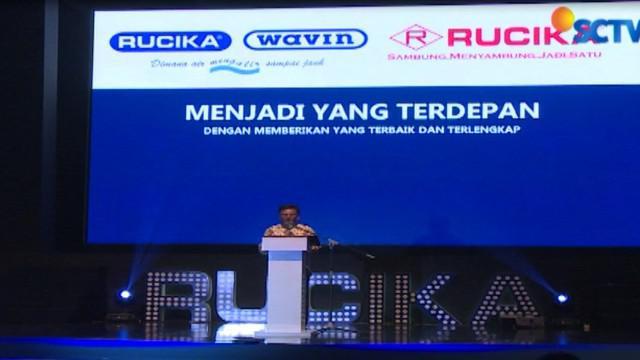 Perusahaan pipa PT. Wavin Duta Jaya yang telah mengubah namanya menjadi PT. Wahana Duta Jaya Rucika