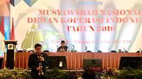 Kementan hadir dalam Munas Dewan Koperasi Indonesia (Dekopin) memberikan komitmen tinggi dalam peningkatan dan pengembangan SDM Koperasi Pertanian menuju Indonesia Maju. (foto:@Kementan)