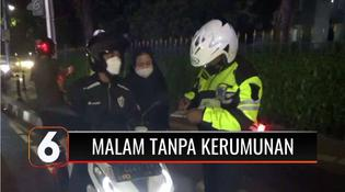 VIDEO: Gelar Malam Tanpa Kerumunan, Satlalin Polres Tangsel Tutup Akses Utama Alam Sutera
