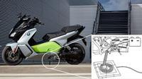 BMW Motorrad dikabarkan mengembangkan sistem wireless charging. (Electrek)
