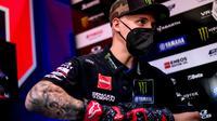 Pembalap Monster Energy Yamaha MotoGP, Fabio Quartararo. (Twitter/Monster Energy Yamaha MotoGP)