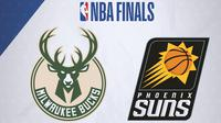 NBA Final Playoff 2021 - Milwaukee Bucks Vs Phoenix Suns (Bola.com/Adreanus Titus)