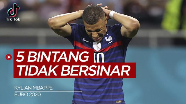 Berita Video Selain Kylian Mbappe Berikut 4 Bintang yang Tidak Bersinar di Euro 2020