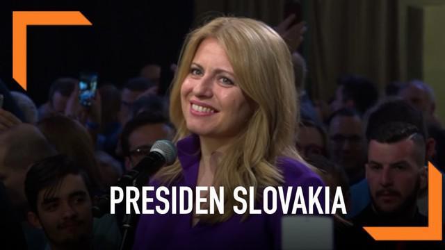 Zuzana Caputova terpilih menjadi Presiden Slovakia yang baru. Ia akan mengukir sejarah sebagai Presiden pertama negara tersebut.