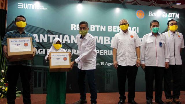 BTN dan REI Kolaborasi Bantu Masyarakat Terdampak Covid-19 ...