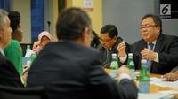 Menteri PPN / Kepala Bappenas Bambang Brodjonegoro melakukan pertemuan dengan World Bank dan IFC bahas kerja sama teknis dan investasi untuk mendorong pembangunan infrastruktur di World Bank, Washington DC, Rabu (11/10). (Liputan6.com/Pool/Bappenas)