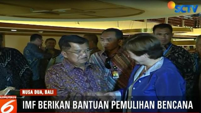Ungkapan ini ditawarkan setelah dialog tingkat tinggi mengenai pembiayaan dan asuransi bencana di Nusa Dua, Bali.
