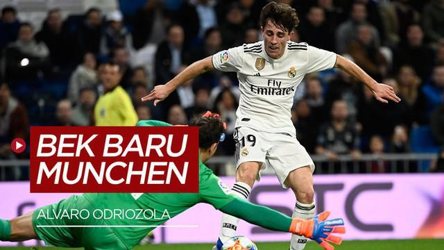 Berita video Bayer Munchen mendapatkan pinjaman bek baru dari Real Madrid, Alvaro Odriozola.