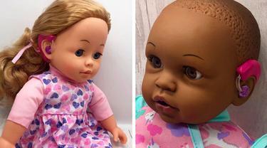 Ibu Ini Desain Boneka Inklusif untuk Anak Disabilitas, Hasilnya Menakjubkan