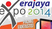 Bagi Anda yang ingin mengganti gadget menjelang hari raya Lebaran, coba saja mengunjungi Erajaya Expo 2014