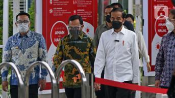 Jokowi Akan Resmikan Pabrik Industri Baja hingga Tinjau Vaksinasi di Banten
