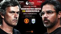 Manchester United Vs Huddersfield Town (Liputan6.com/Trie yas)
