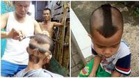Potongan Rambut Ala Netizen Ini Bikin Ketawa Geli (sumber:Twitter/ndorokakung).