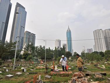 Krisis Lahan Makam di Tanah Ibu Kota