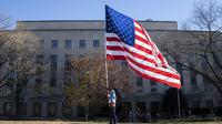 Ilustrasi bendera Amerika Serikat (AFP Photo)
