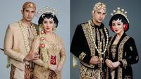 Ali Syakieb dan Margin Wieheerm dalam Busana Adat Jawa (Sumber: Instagram/aldiphoto)